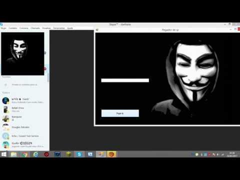 Como hackear ip !!! No skype 2017