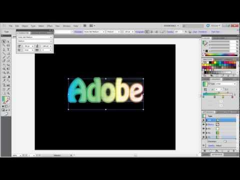 How to apply gradient on stroke in Adobe Illustrator
