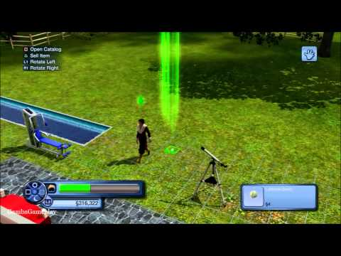 How to plant a seed, Sims 3 (PS3)