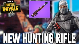 New Hunting Rifle! - Fortnite Battle Royale Gameplay - Ninja