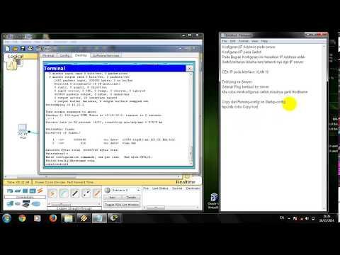1 Networking Backup dan Restore config di switch Cisco
