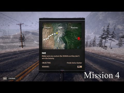 Road Redemption (Road rash) Gameplay Mission 4