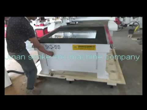Mirror Glass cutting machine with vacuum table