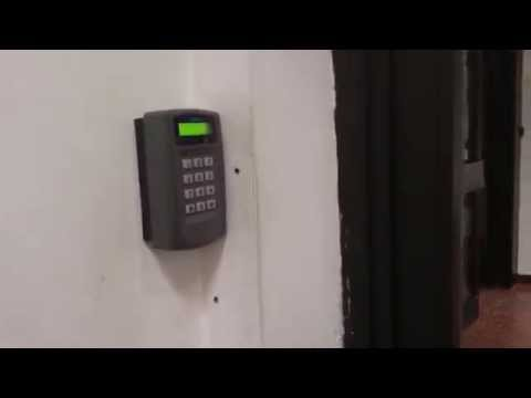 Pegasus Access Control System - Card Check Door Opening [FULL HD]