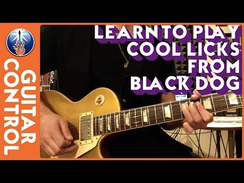 Learn to Play Cool Licks From Black Dog
