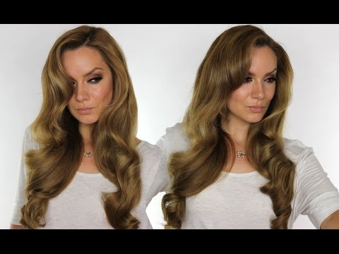 Hollywood Waves Hair Tutorial | Bombay Gold Straightener | Shonagh Scott