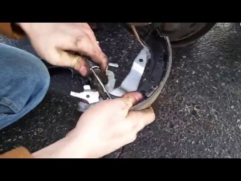 How to change Camry brakes and e-brake