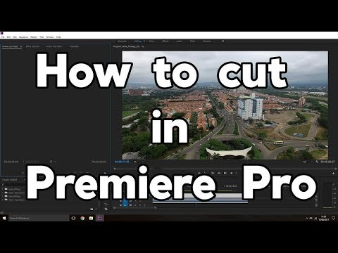 How to cut Audio and Video in Premiere Pro CC