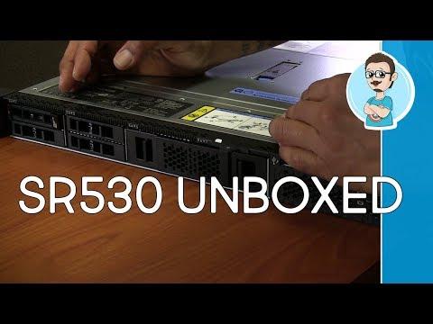 Lenovo ThinkSystem SR530 Server Unboxing | Windows Server 2019 Lab Setup Plans!