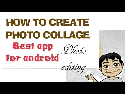 How to create photo collage, grid on android