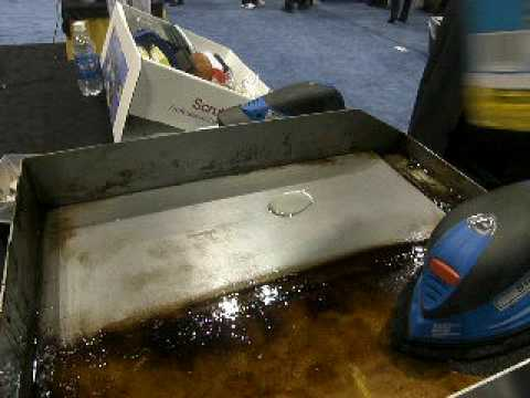 ACS Scour Pro Grill Cleaning Demo at NRA Show -1
