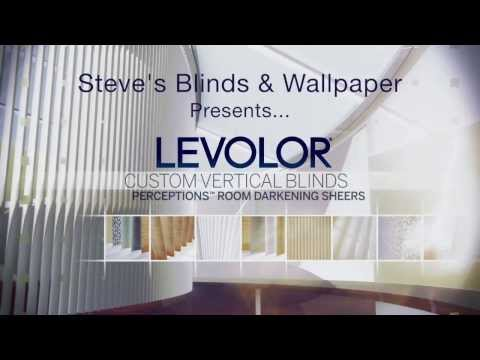 Learn About Levolor Vertical Blinds