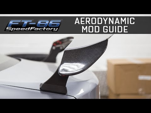 Guide to Aerodynamic Mods - FRS/BRZ/86