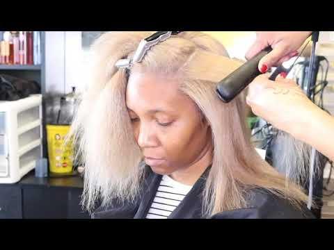 Butterscotch Blonde to Beige Blonde Transformation!