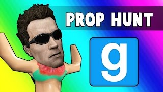 Gmod Prop Hunt Funny Moments - The Pie Factory!