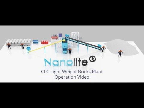 +919885155995 Nanolite CLC Light Weight Bricks & Blocks / Foam Concrete Production Process