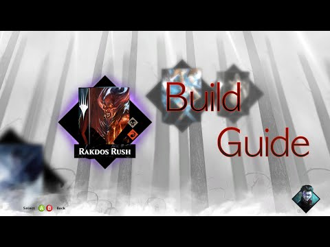 Magic 2015 Black Red Agro Build Guide - Rakdos Rush Deck Tek