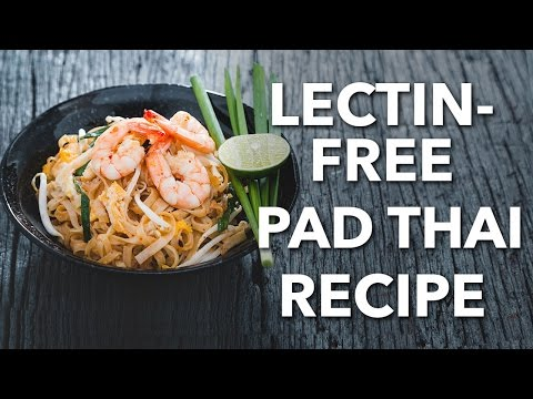 Healthy Pad Thai Recipe (cooking demo)