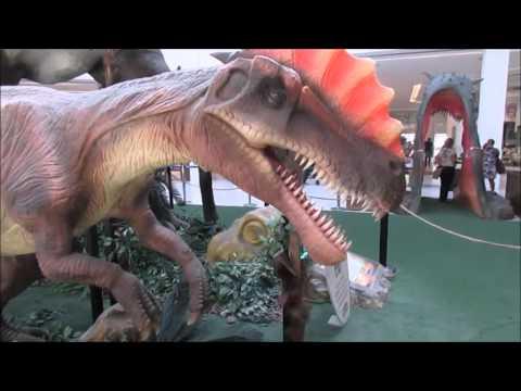 MINI VLOG PERDIDO   Parque dos Dinossauros l Shopping Bela Vista