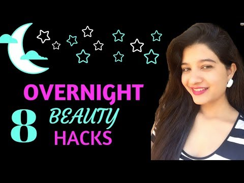 8 Night Time Skincare Hacks for a Flawless Skin | Overnight Beauty Tips You Need To Know / AVNI