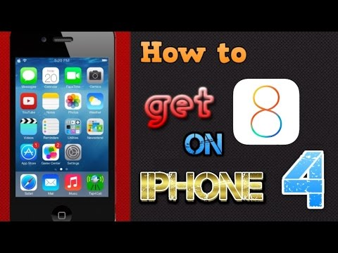 UPDATED : How to get iOS 8 for iPhone 4 [TUTORIAL]