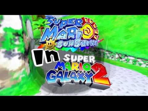 Super Mario Galaxy 2: Sunshine Hack ~ Hackthrough