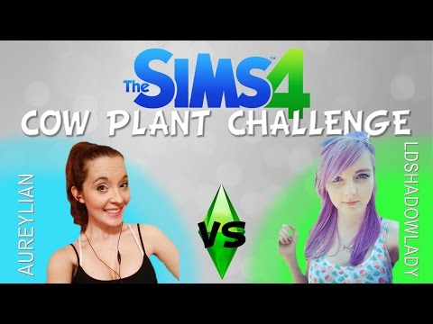 THE SIMS 4: COW PLANT CHALLENGE! w/ LDShadowlady