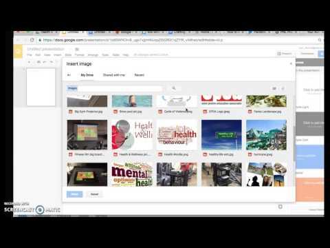Using Google Slides to make letter sized handouts/brochures