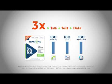 TracFone - 3x Talk Text Data LG34