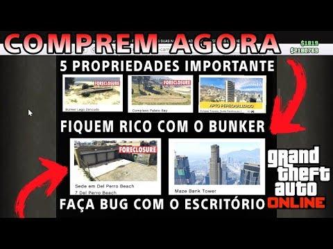 5 propriedades que vai te deixar MILIONÁRIO no GTA 5 ONLINE (VOCÊS DEVEM COMPRAR AGORA !!!)