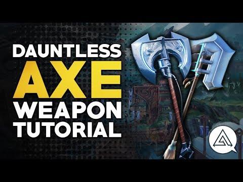 Dauntless | Axe Tutorial