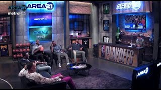 AREA 21 - KG chops it up with Kenyon Martin, Tony Allen, Andre Ingram & Alan Anderson