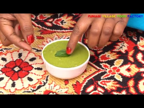 Chutney 💕 Green Chutney Recipe 💕 Mint Chutney 💕 Green Chutney for Sandwich 💕 Dhaniya Chutney