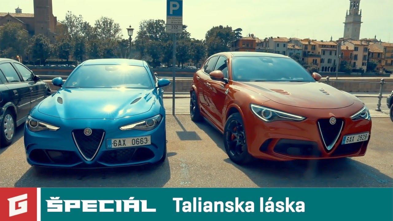 Alfa Romeo Stelvio QV vs Giulia QV v Taliansku - ENG SUB - GARAZ.TV špeciál