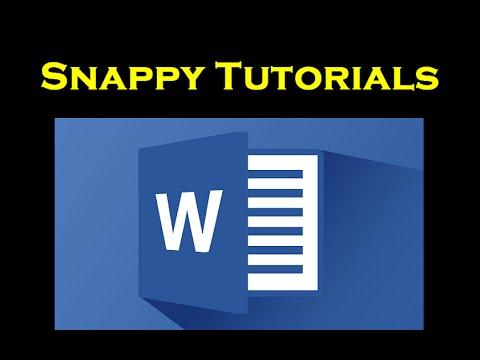 Flip or Mirror Text - Microsoft Word