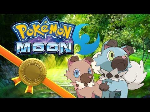 SHINY Rockruff (SOS Method/ Chaining) with Persian Evolution! | Pokémon Moon Version