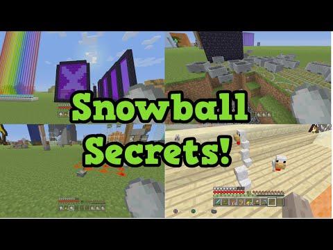 Minecraft Snowball Secrets (& Eggs)