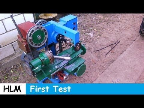 Homemade milling machine part 11