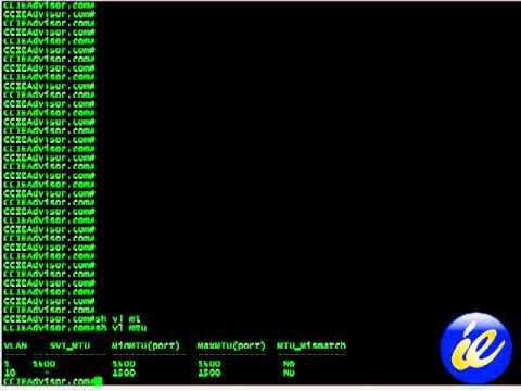 Learn how to use Show Vlan MTU command on Cisco IOS from ccieadvisor.com