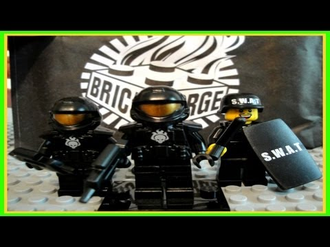 BRICKFORGE LEGO Accessories Product REVIEWS: SWAT & HALO ODST