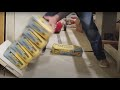 Wide Floating Shelf Strength Tests