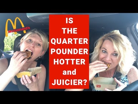 McDonald's Quarter Pounder with Cheese Review