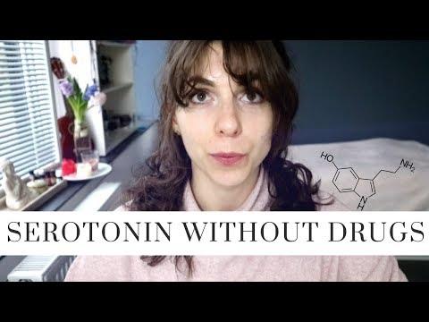 increasing serotonin levels without medications