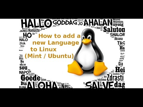 Adding Languages to Linux, and setting shortcut keys