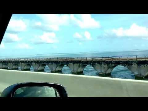 7 mile bridge - Florida keys (drive through)