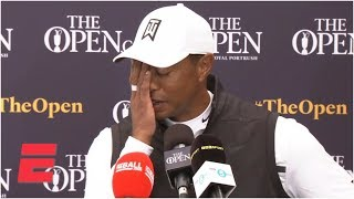 Tiger Woods reacts to missing cut at The Open, looking forward to going home | Golf
