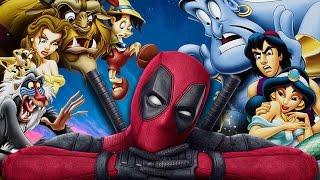 Deadpool Invades Disney