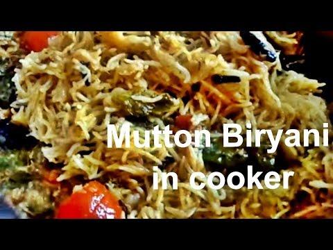 How to make Mutton Biryani Using Pressure Cooker|Mutton Biriyani in Pressure cooker|Easy Biryani