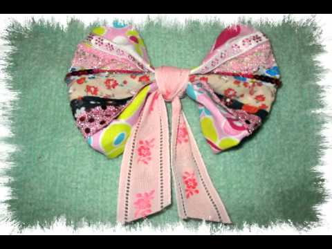 maymuller-how to make hair bow clip.mov