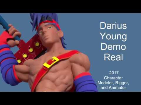 Darius Young Demo Reel 2017 (Re-upload)